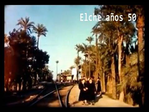 Elche en los años 50. Imágenes cedidas por Rudy Weis (Le Ciné Garage)