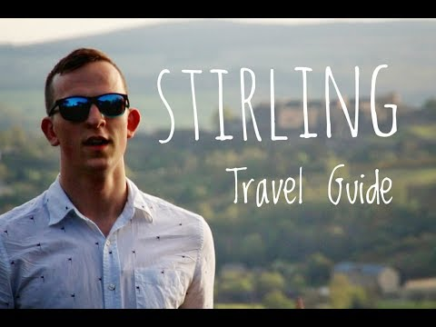 WOW air travel guide application // Stirling, Scotland