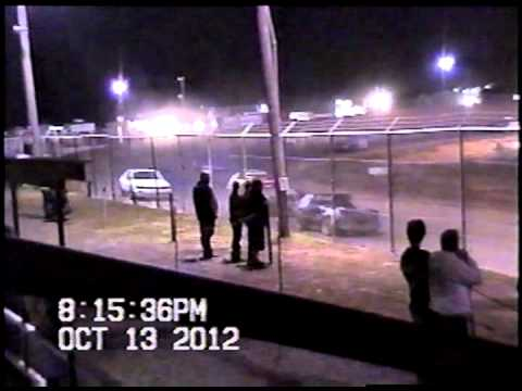 Malden Speedway Mini Stock Feature-Nathan Rettig Memorial Cotton Bowl Cup 2012