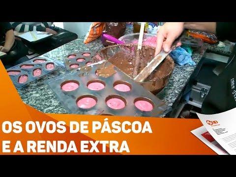 Os ovos de Páscoa e a renda extra - TV SOROCABA/SBT