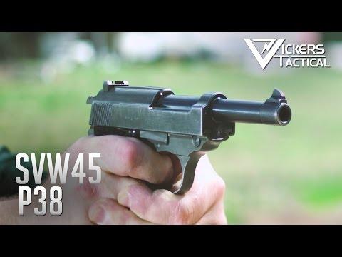 SVW45 P38 Pistol - YouTube