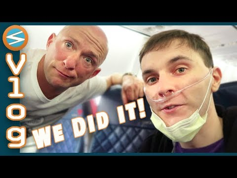 First Time Flying In A Wheelchair  (Minefaire 2018 Los Angeles Vlog)
