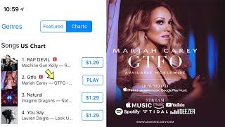 Baixar #GTFO DEBUTED AT #1 ON ITUNES WORLDWIDE!