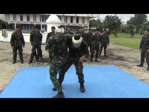 วิดีโอต่อสู้ป้องกันตัว หน่วยรบพิเศษ กองทัพบก