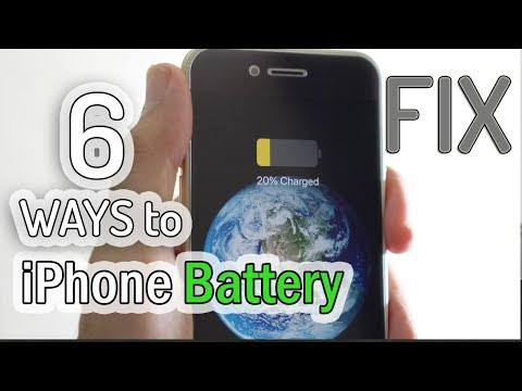 How to Fix iPhone Battery Drain Issue  | Battery Fix for iPhone 5s/6/6s/7/8/x