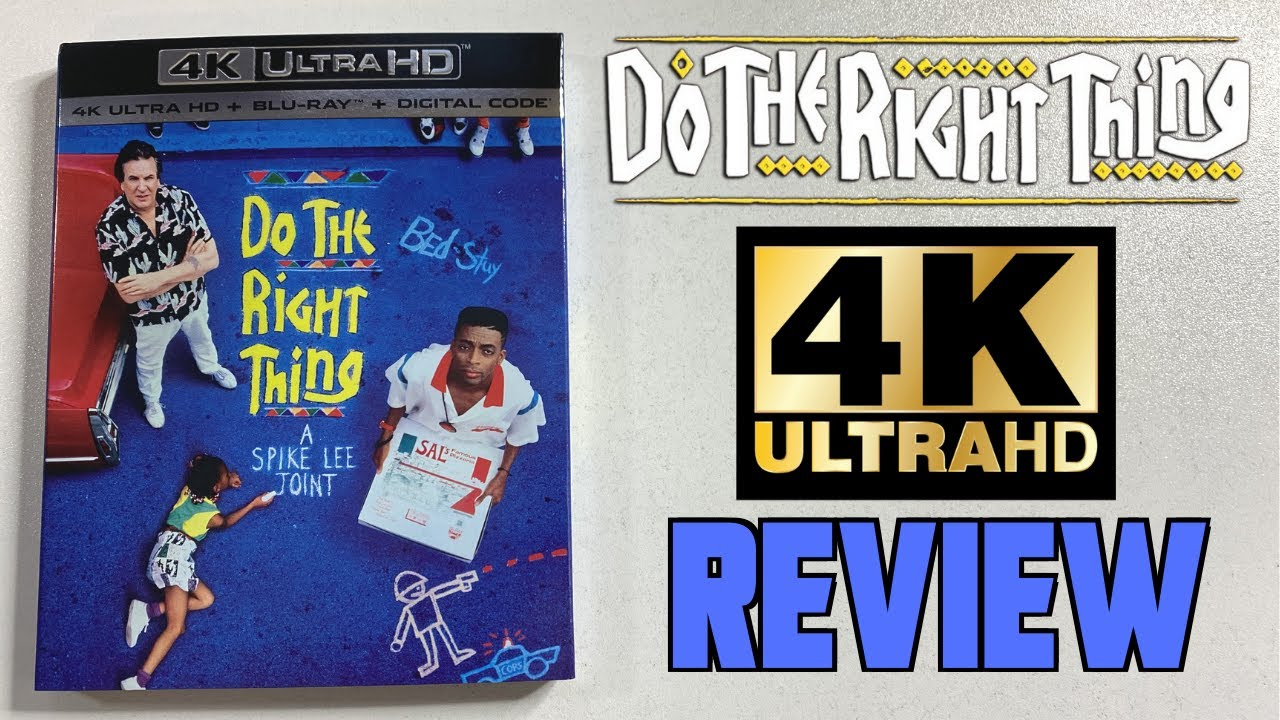 Do The Right Thing (1989) - 4K Review