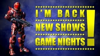 Halo 4 - I'm back! • New shows • game nights/lobbies • (Halo 4 gameplay - rampage perfection)