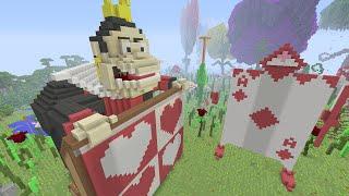Minecraft (Xbox One) - Alice In Wonderland - Hunger Games- Part 1