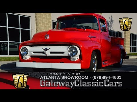 1956 Ford F100 - Gateway Classic Cars of Atlanta - Stock #900-ATL