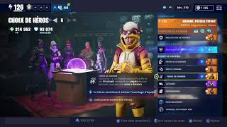 BEST COMPOSITION HÉROS FOR THE FARM FORTNITE SAUVER THE WORLD