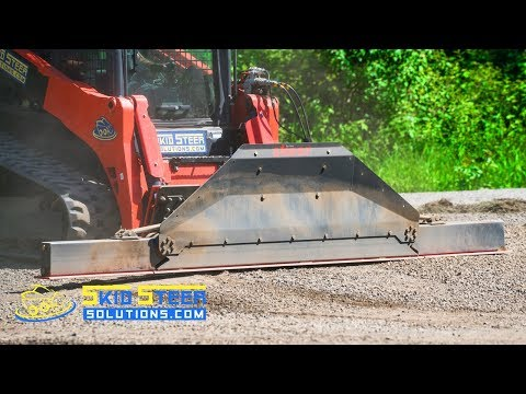 Skeer Pro Plus Skid Steer Grader Attachment | Product Overview + Demo