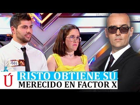 El Zasca a Risto Mejide en Factor X que recuerda a Pablo López tras City of Stars a lo Amaia Alfred