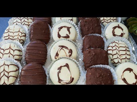 صابلي-بالشوكولا-حلويات-العيد-2020-/-sablé-au-chocolat-gâteaux-l'aïd