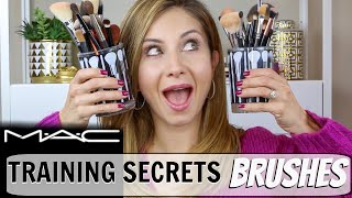 STOP Wasting Your Money! Makeup Brushes Everything you Need to Know | MAC Training Secrets Revealed