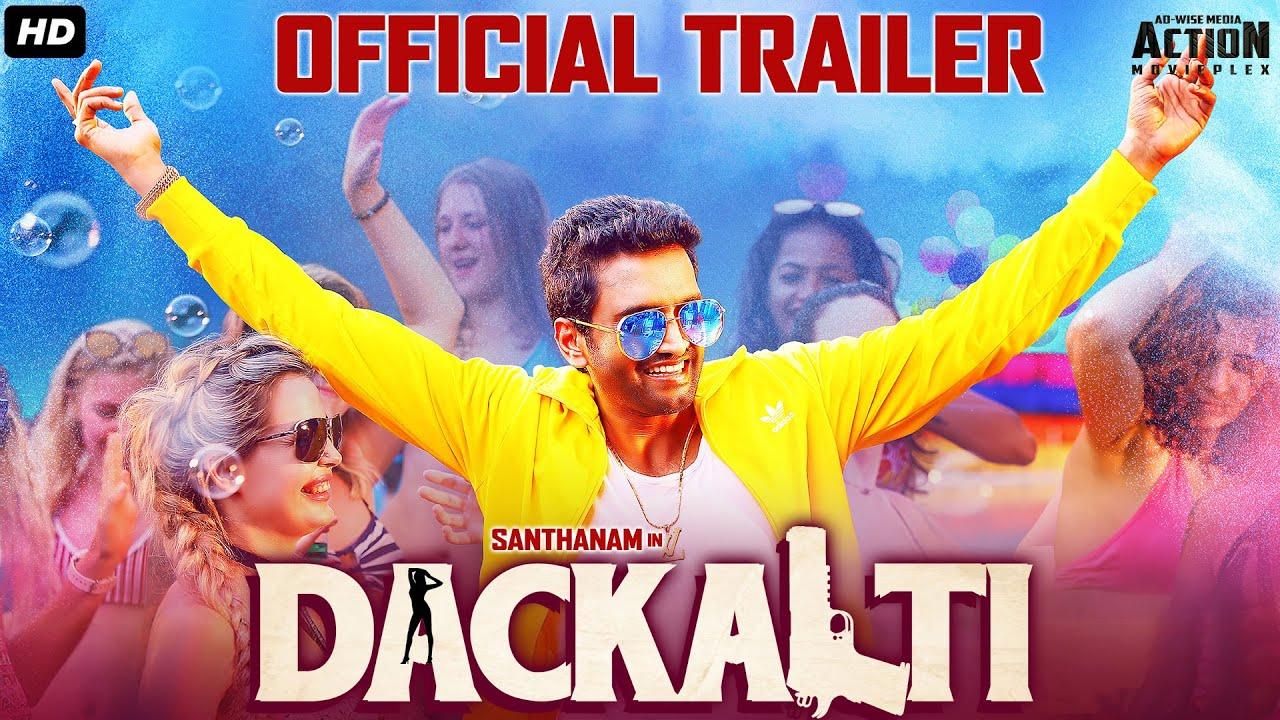 DACKALTI (Dagaalty) 2021 Official Hindi Dubbed Trailer | South Movie 2021 | Santhanam & Rittika Sen