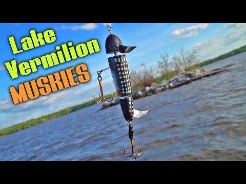 Lake Vermilion MUSKIES - Giants Found!! Day 1