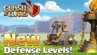 Clash of Clans Update März 2016 Inferno Level 4, Mienenwerfer Level 9 #1 Deutsch [HD]