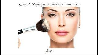 Урок 2. Порядок нанесения макияжа. Тема 1. Лицо