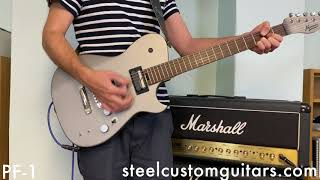 Manson MBM-1 Meta Series Sustainiac Standard Pickup vs Psychopaf PF 1 Matt Bellamy Signature Guitar