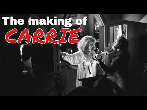 The making of CARRIE (1976)