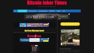 Bitcoin КРАН от 350 до 5000 сатоши каждый час! Bitcoin Joker Times Заработок в интернете!