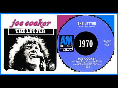 Joe Cocker - The Letter (Live 1970) 'Vinyl' mp3