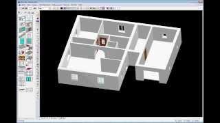 Урок моделирования окон и дверей в программе Дом-3D