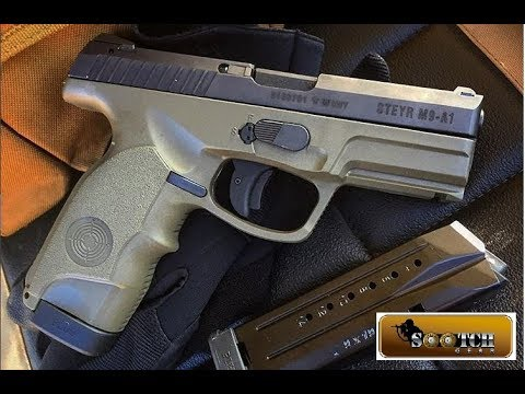 Steyr M9 A1 9mm Pistol  Outside the Box!