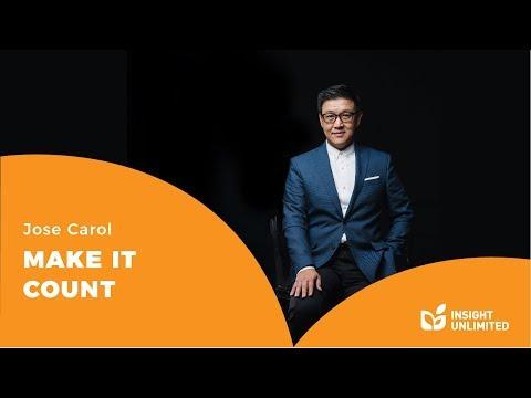 Jose Carol - Make It Counts