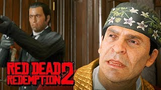 Red Dead Redemption 2 Gameplay German PS4 PRO - Big City Mafia