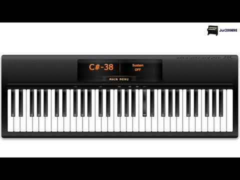 Lana Del Rey - Video Games - Virtual Piano