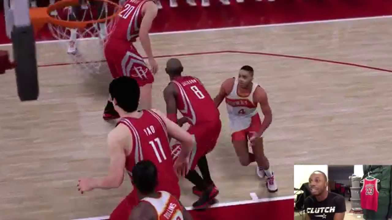 "Can 5 7"" Spud Webb Dunk on 7 6"" Yao Ming Funny NBA2K16"