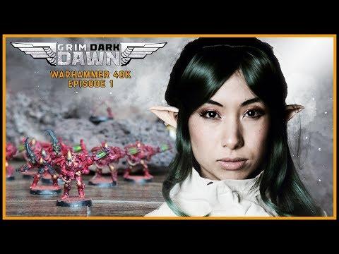 Beginnings Bring Ends | Grim Dark Dawn | Warhammer 40k | Imperium Vs. Xenos Alliance [1x01]