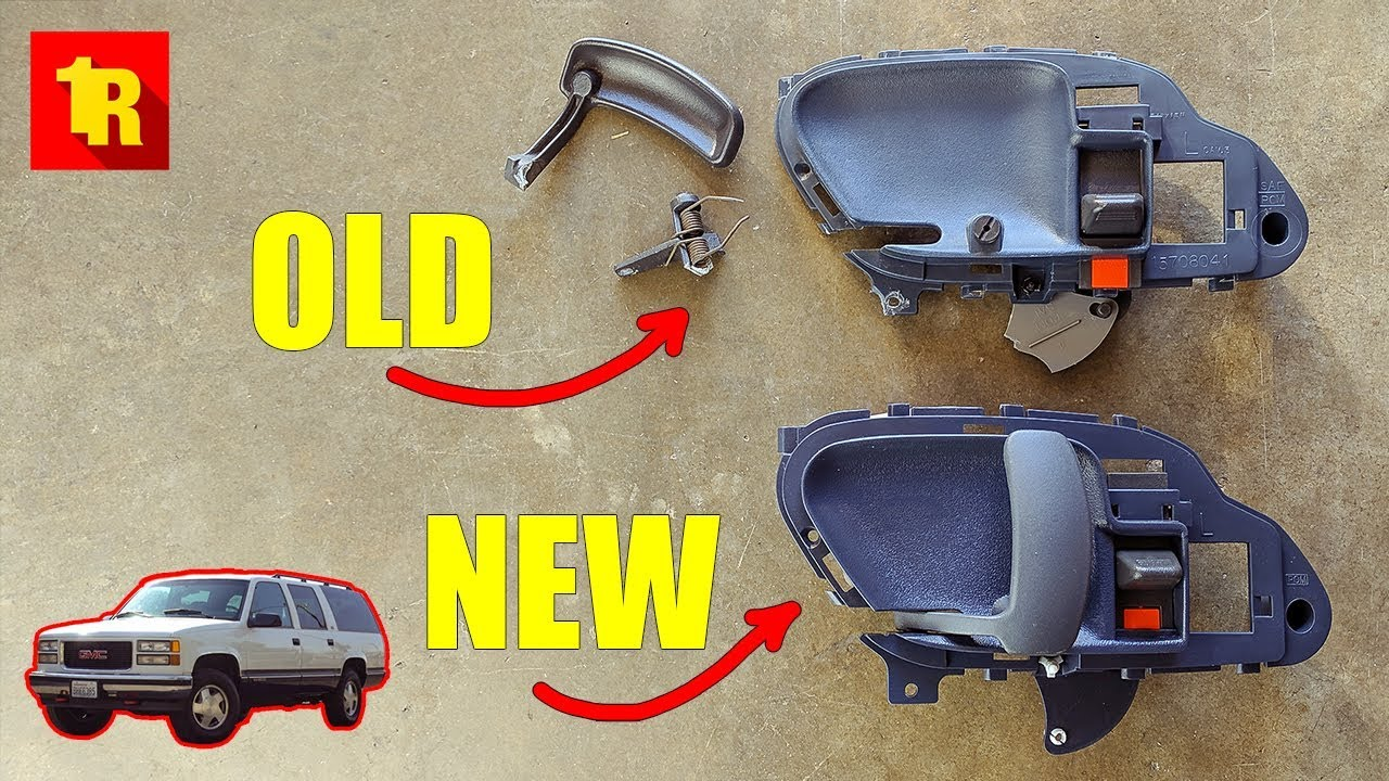 Epic 1995 1999 Chevy Gmc Interior Door Handle Fix Youtube