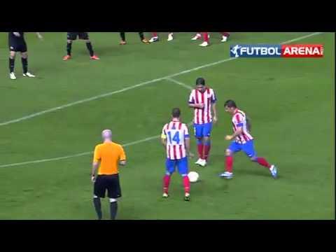 Emre Belezoglu Atletico Madrid  Free kick gol
