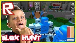 Blox Hunt - BEST HIDING SPOT | Roblox