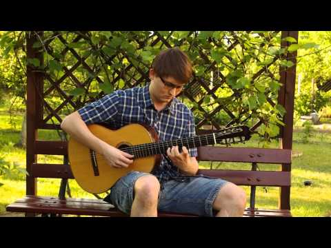 Celtic Irish Music - The Green Island (Classical Guitar)