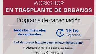 Workshop en Trasplante de Órganos 2020 - Cuarta Clase