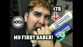 ULTRA SABER MYSTERY BOX UNBOXING (MY FIRST SABER)