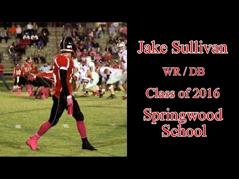 Class of 2016: Jake Sullivan - Springwood School