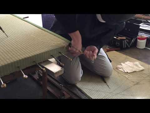 【手縫い職人技】早技隅作り
