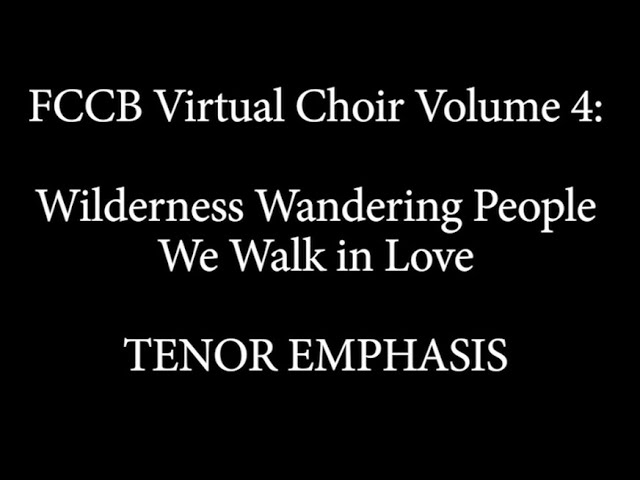 Virtual Choir 4 Singalong tenor