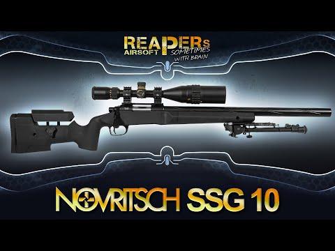 [Review] Novritsch SSG10 A1 | A2 (6mm Federdruck Sniper im Test - VSR) Airsoft/Softair (German,DE)
