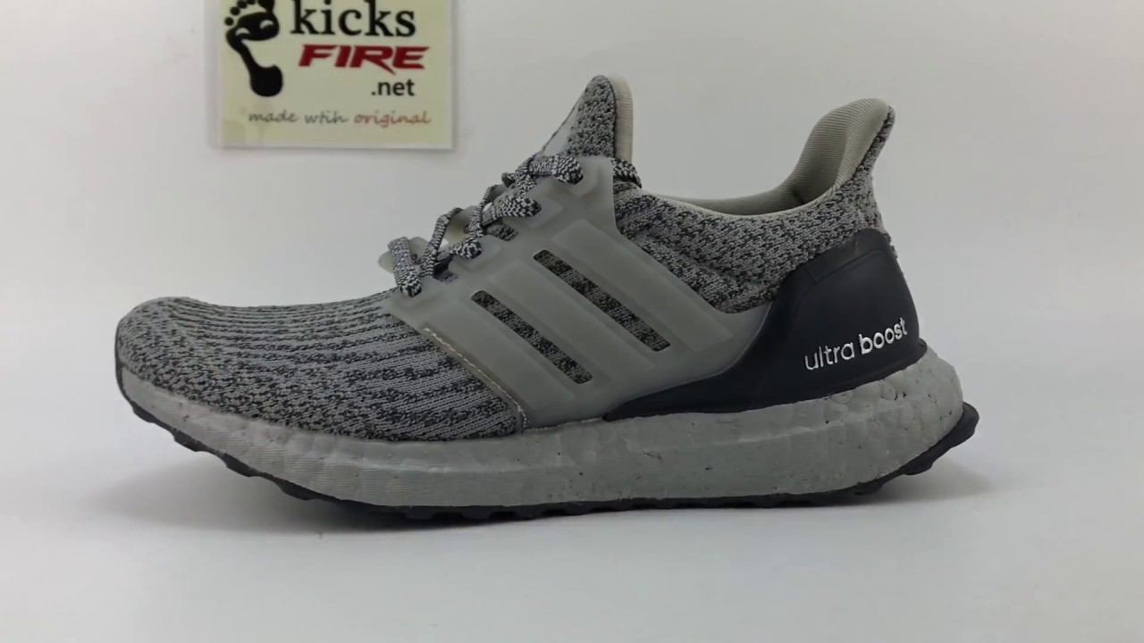 super popular 32f19 0af18 Adidas Ultra Boost 3.0 Grey Silver BA8143 From kicksfire.net