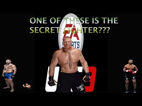 EA SPORTS UFC 3 SECRET FIGHTER AND HOW TO UNLOCK
