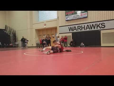 Nick Ifju 138 Westerville Central High School Open Tournament Match #4 3/11/18