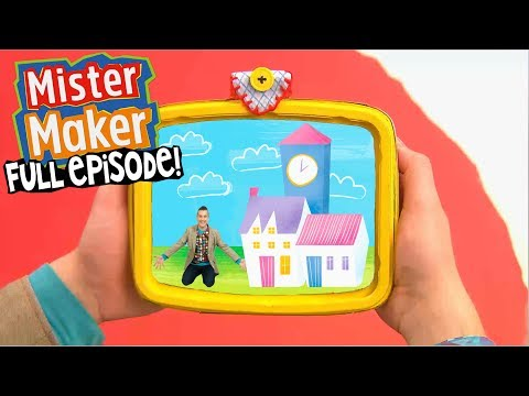 Buildings! | FULL EPISODE | Mister Maker's Arty Party
