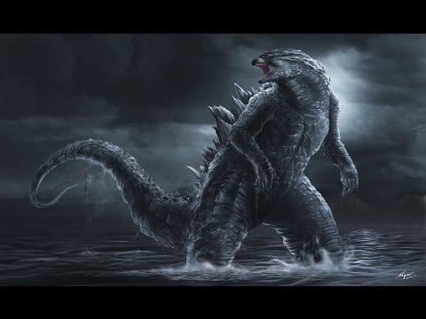My Godzilla Drawings (10-7-14)