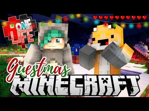 Spawn Makeover?! - One Life Season 2 Minecraft SMP - Ep.34 Guestmas W/Seapeekay
