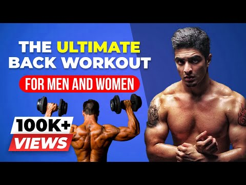 BACK WORKOUT AT HOME for MEN & WOMEN | Exercise FORM & Training plan | BeerBiceps Home Workout